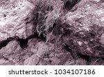 lunar landscape of the lost... | Shutterstock . vector #1034107186