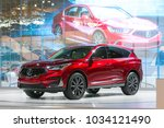 chicago   february 8  the new...   Shutterstock . vector #1034121490