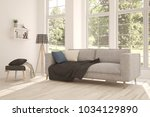 idea of white room with sofa... | Shutterstock . vector #1034129890
