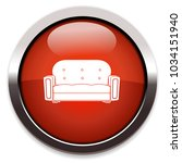 sofa isolated vector icon | Shutterstock .eps vector #1034151940