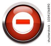 minus flat icon | Shutterstock .eps vector #1034156890