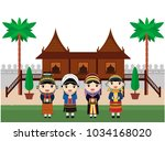 hill tribes kids in thailand ...   Shutterstock .eps vector #1034168020