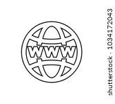 world internet on grid vector...