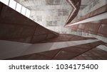 empty smooth abstract room... | Shutterstock . vector #1034175400