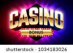 casino welcome bonus banner ... | Shutterstock .eps vector #1034183026