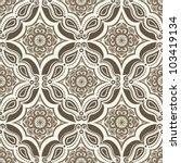 vector seamless floral pattern...   Shutterstock .eps vector #103419134