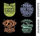 tee prints vector set   Shutterstock .eps vector #1034209576