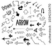arrow illustration pack | Shutterstock .eps vector #1034210470