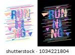t shirt design sports wear... | Shutterstock .eps vector #1034221804