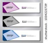 banner background modern... | Shutterstock .eps vector #1034223739