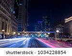 chicago downtown  city street...   Shutterstock . vector #1034228854