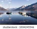 lake of como in gera lario in...   Shutterstock . vector #1034245546