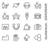 flat vector icon set   mother... | Shutterstock .eps vector #1034250439