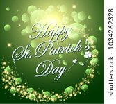 abstrackt of st.patrick's day... | Shutterstock .eps vector #1034262328