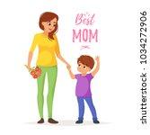 vector cartoon style... | Shutterstock .eps vector #1034272906
