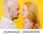 excited odd bizarre strange... | Shutterstock . vector #1034283334