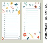 simple minimalistic to do list...   Shutterstock .eps vector #1034293123