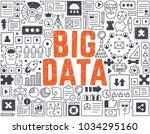 big data   hand drawn vector...   Shutterstock .eps vector #1034295160