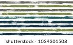 retro watercolor brush stripes... | Shutterstock .eps vector #1034301508