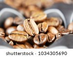 aroma of coffee and flavorings | Shutterstock . vector #1034305690
