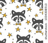 children's seamless pattern... | Shutterstock .eps vector #1034308513