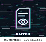 glitch effect. view document...