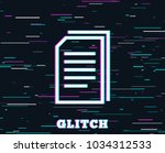 glitch effect. copy documents...