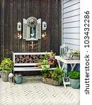 home garden | Shutterstock . vector #103432286