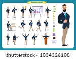 people character business set... | Shutterstock .eps vector #1034326108