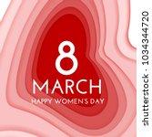 8 march international women's... | Shutterstock .eps vector #1034344720
