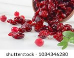 scattered on the table dried... | Shutterstock . vector #1034346280
