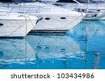 Blue Mediterranean Sea Water In ...