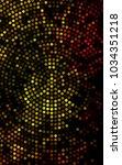 dark orange vertical banner... | Shutterstock . vector #1034351218