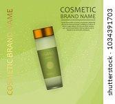 vector 3d cosmetic illustration ... | Shutterstock .eps vector #1034391703