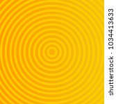 circle sun rays. sun rays... | Shutterstock .eps vector #1034413633