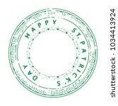 saint patrick's day... | Shutterstock .eps vector #1034413924