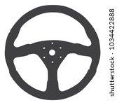 sports car steering wheel...   Shutterstock .eps vector #1034422888