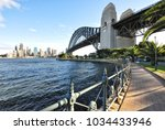 view of the magnificent harbour ... | Shutterstock . vector #1034433946