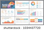 presentation template design.... | Shutterstock .eps vector #1034437720