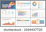 presentation template design.... | Shutterstock .eps vector #1034437720