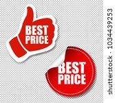 best price labels set... | Shutterstock .eps vector #1034439253