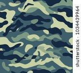 camouflage pattern background... | Shutterstock .eps vector #1034439964