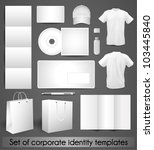samples for corporate identity... | Shutterstock .eps vector #103445840