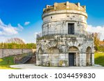 the mausoleum of theoderic in... | Shutterstock . vector #1034459830