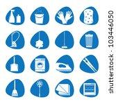 vector illustration icons on... | Shutterstock .eps vector #103446050