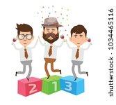 businessman concept design | Shutterstock .eps vector #1034465116