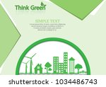 ecology connection  concept...   Shutterstock .eps vector #1034486743