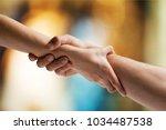 help hand concept | Shutterstock . vector #1034487538