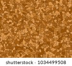 vector otlined agglomerated... | Shutterstock .eps vector #1034499508