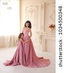 an attractive  naked goddess ...   Shutterstock . vector #1034500348